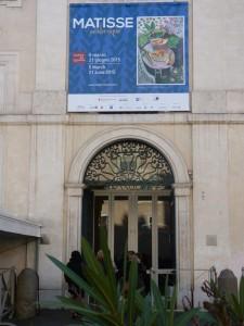 matisse-Plakat- Eingang Scuderien - Foto christa Blenk